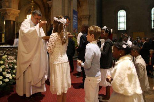 La acción de gracias después de la comunión