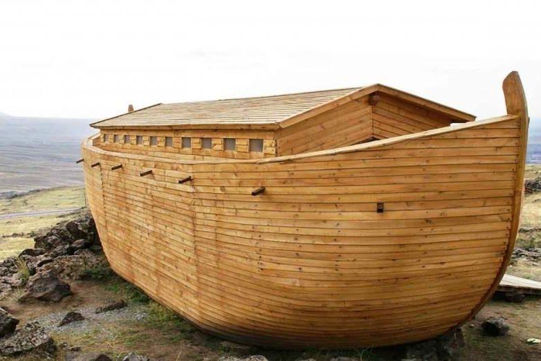 arca d noe. Construir el arca interior
